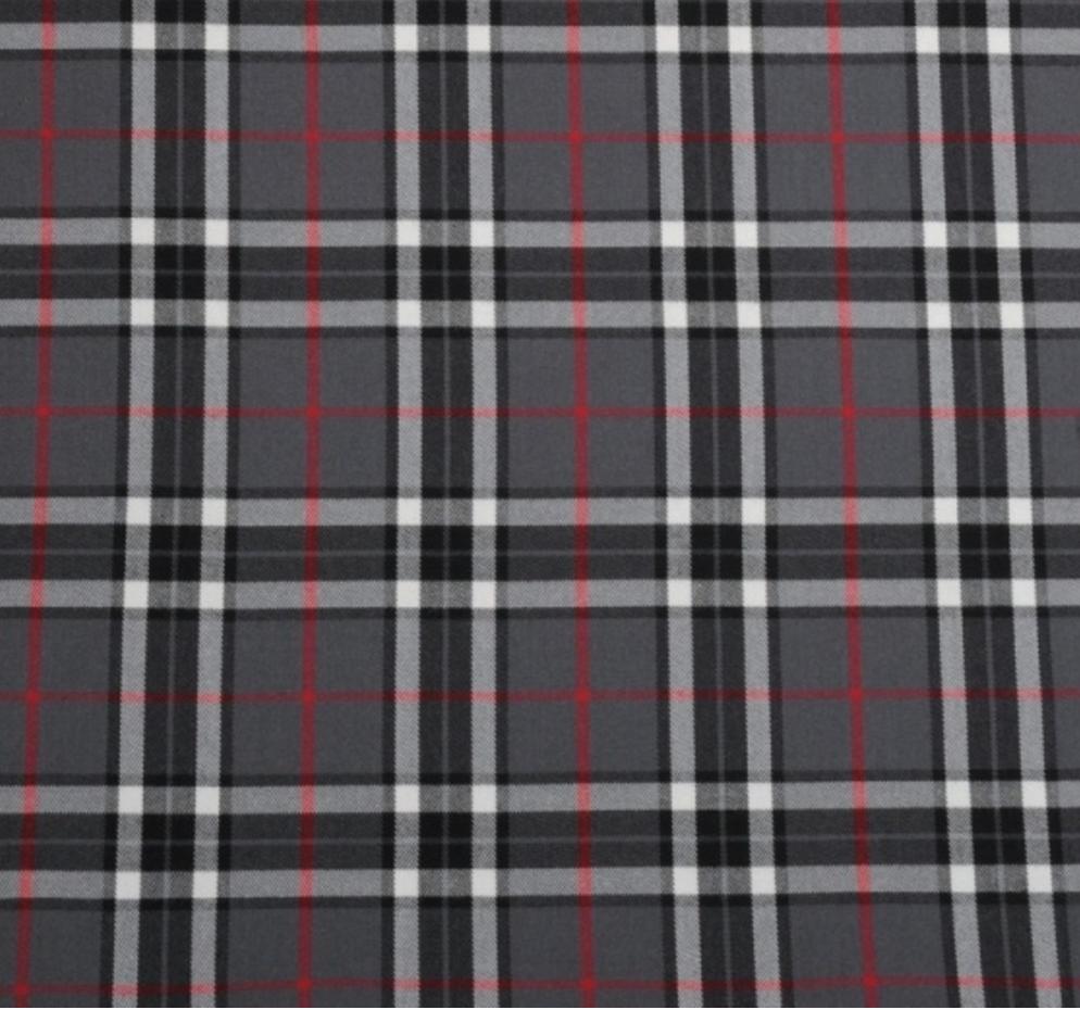 Červené kárované šaty s rukávmi ADELE - MiaBella 58976c4d438